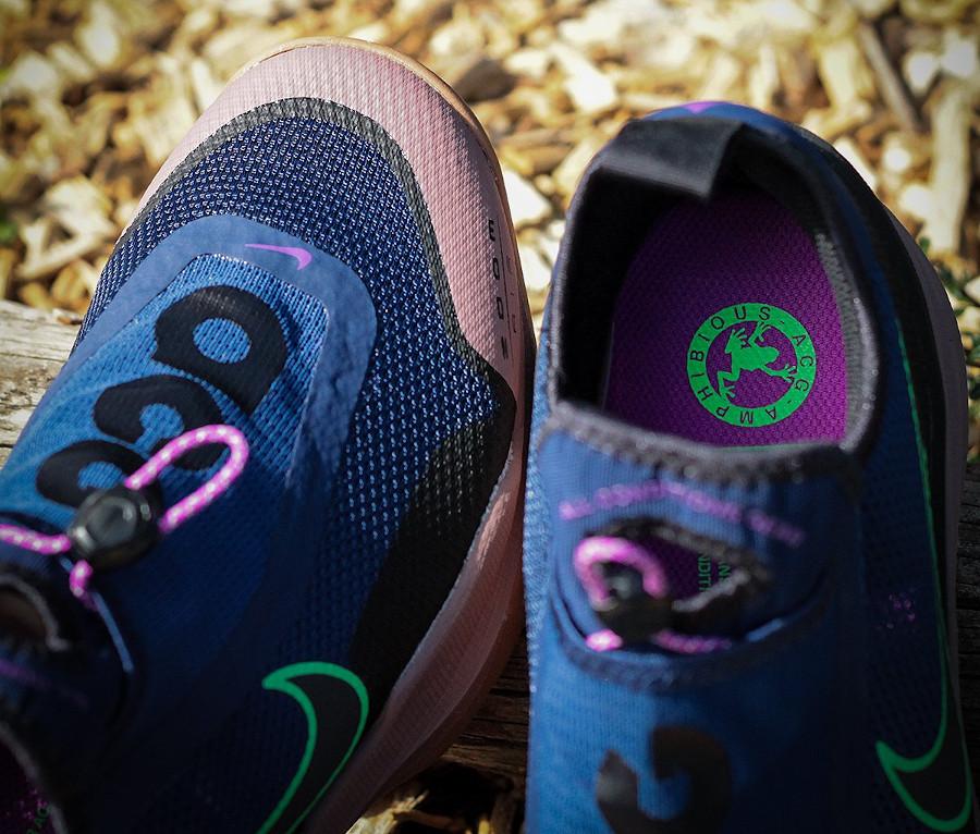 Nike Air Zoom AO Hiking ACG bleu vert fluo marron CT2898-401 (1)