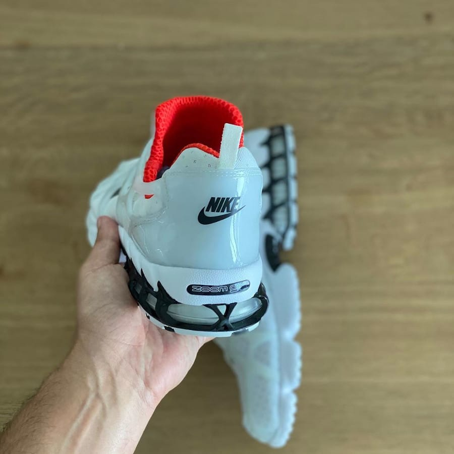 Nike Air Zoom Kukini blanche rouge et noire (5)