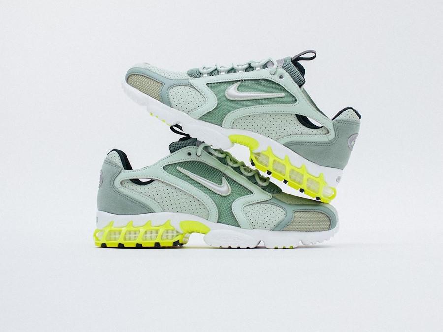 Nike Air Zoom Spiridon Cage 2 vert pastel menthe CW5376-301 (1)