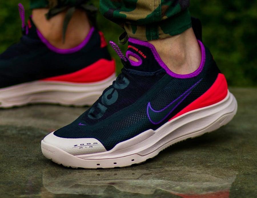Nike All Condition Gear AO noire rouge violet et beige (2)