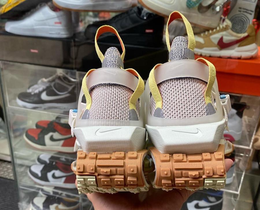 Nike ISPA Road Warrior beige vert fluo et marron (1)