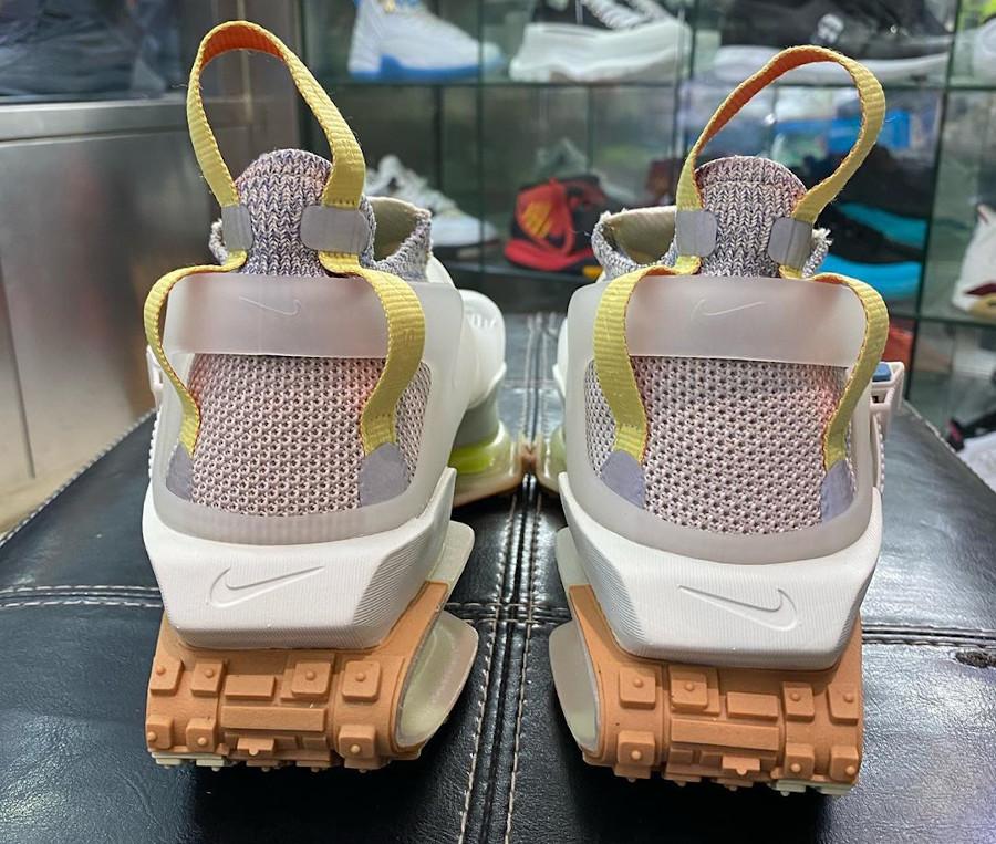 Nike ISPA Road Warrior beige vert fluo et marron (5)