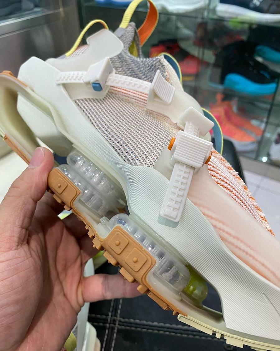 Nike ISPA Road Warrior beige vert fluo et marron (6)