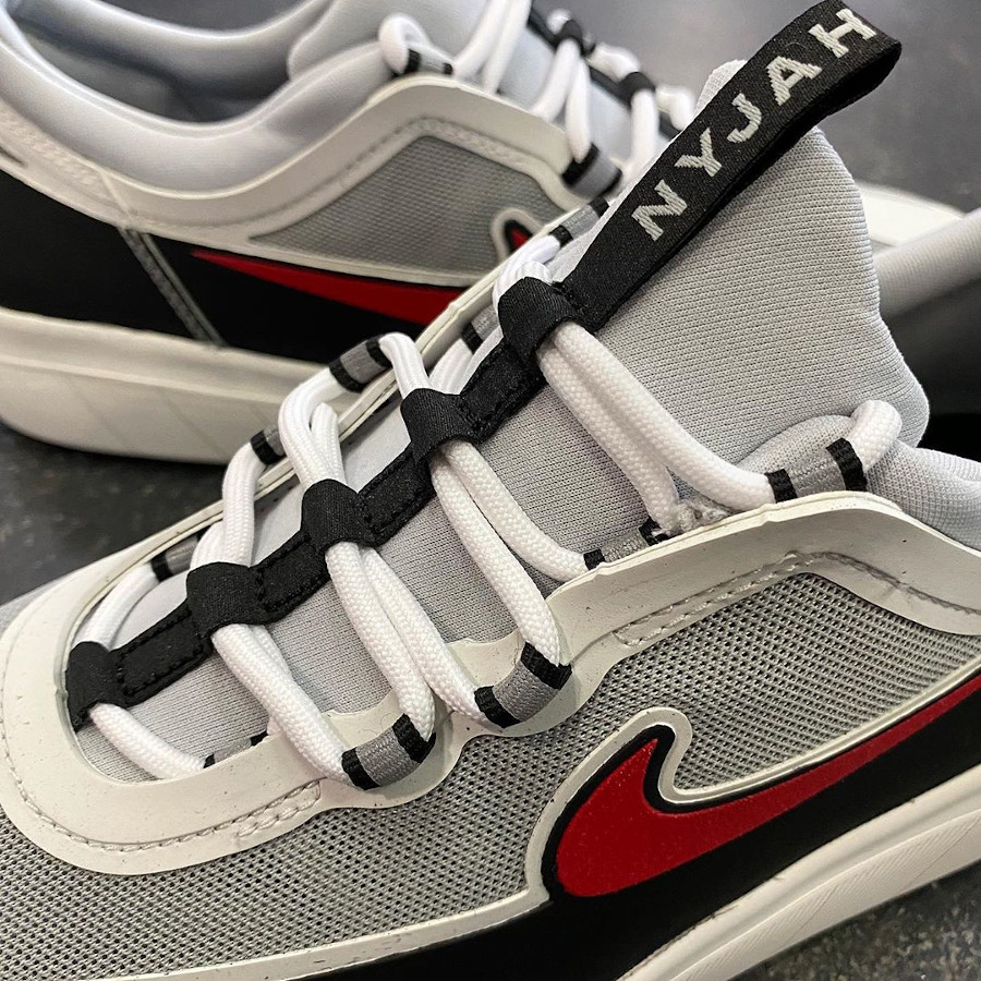 Nike Nyjah Free 2.0 blanche noire et rouge (3)