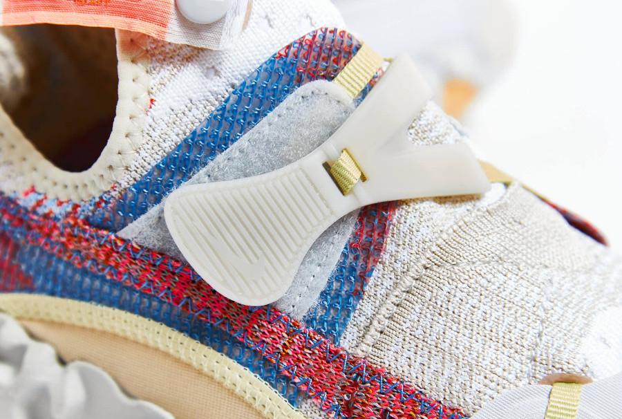 Nike Over React au tissage blanc cassé CD9664-100 (3)