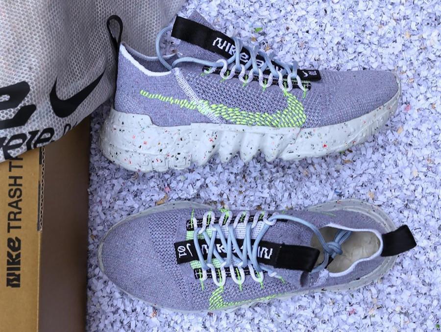 Nike Space Hippie 01 Grey Volt CQ3986-002
