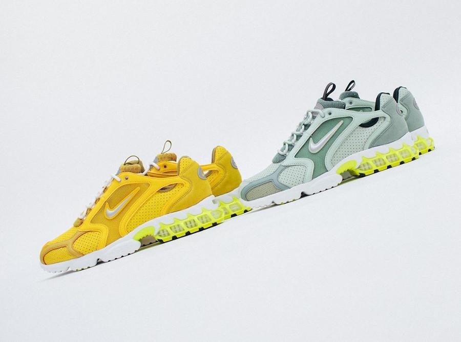 Nike Spiridon Cage 2 Frost Pistachio Saffron Quartz CW5376 (1)