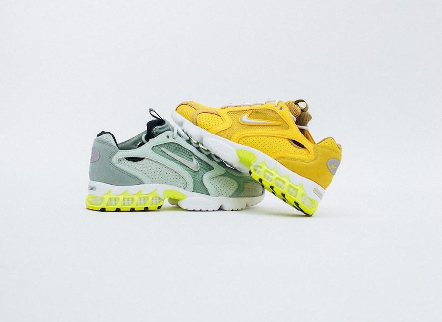 Nike Spiridon Cage 2 Frost Pistachio Saffron Quartz CW5376 (2)