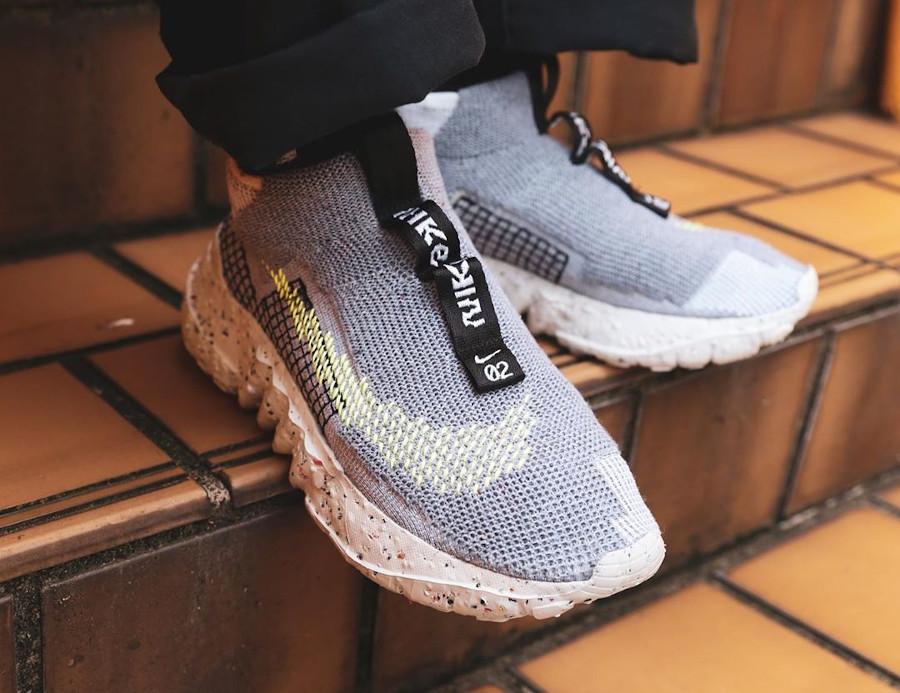 Nike Trash Space Hippie 02 Volt Grey CQ3988-002
