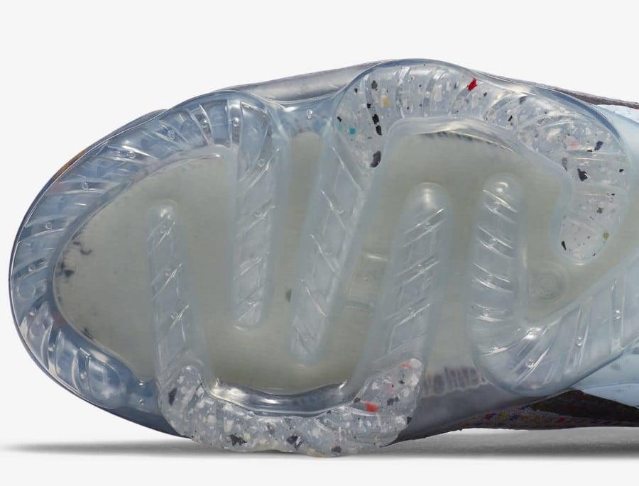 Nike VM en polyester recyclé gris foncé et multicolore (2)