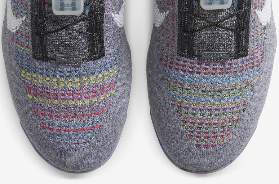 Nike VM en polyester recyclé gris foncé et multicolore (4)