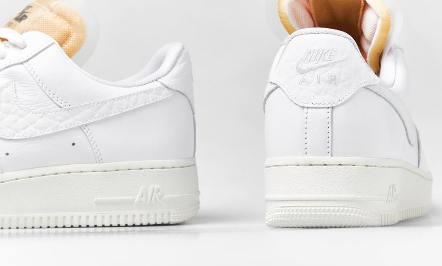 Nike Air Force 1 Low blanche avec des bijoux (1)