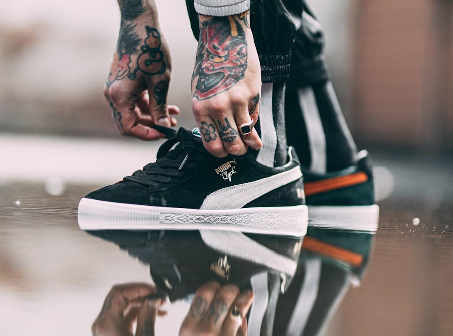 Puma Clyde The Hundreds Clique 371383-01
