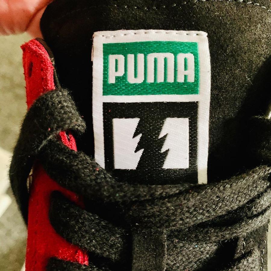 Puma Clyde dépareillée Wildfire Flag (1)