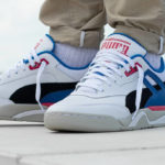 The Hundreds x Puma Palace Guard White Blue Pink