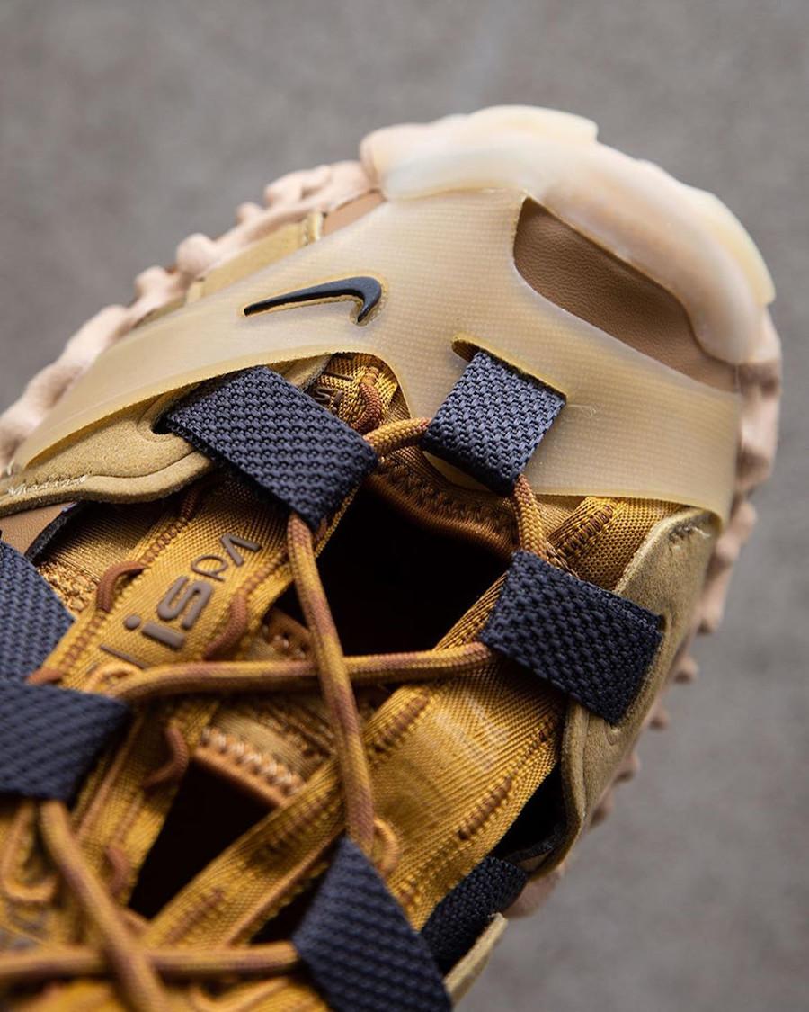 Sandale Nike Overreact ISPA marron et beige (4)