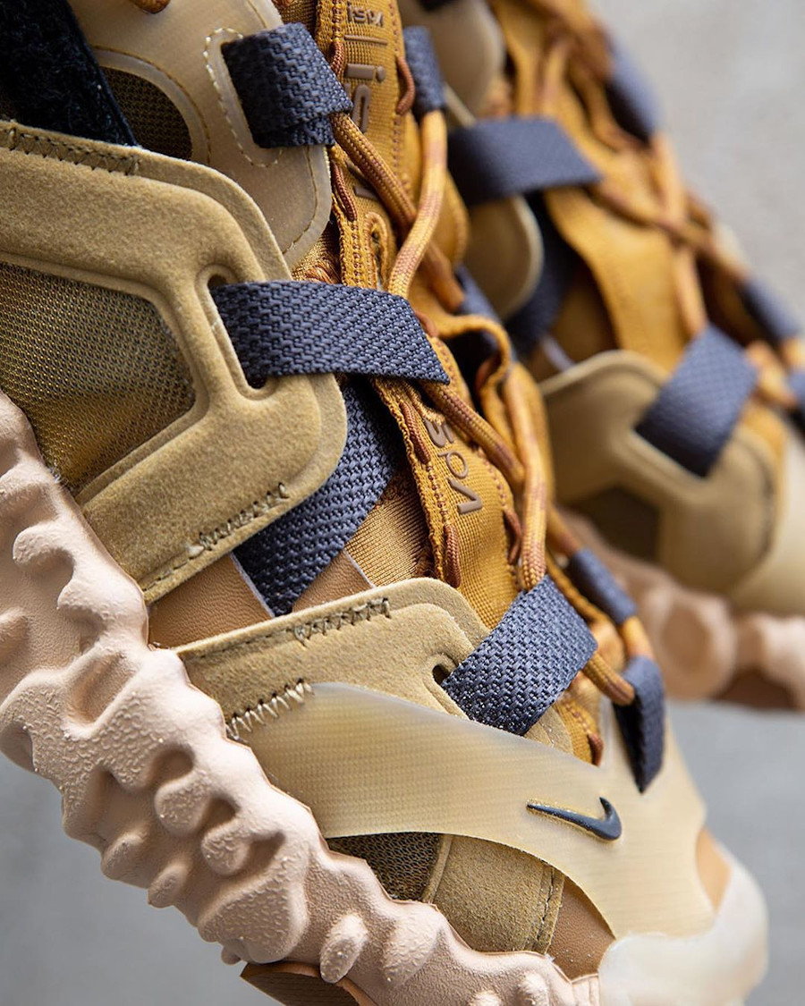 Sandale Nike Overreact ISPA marron et beige (5)