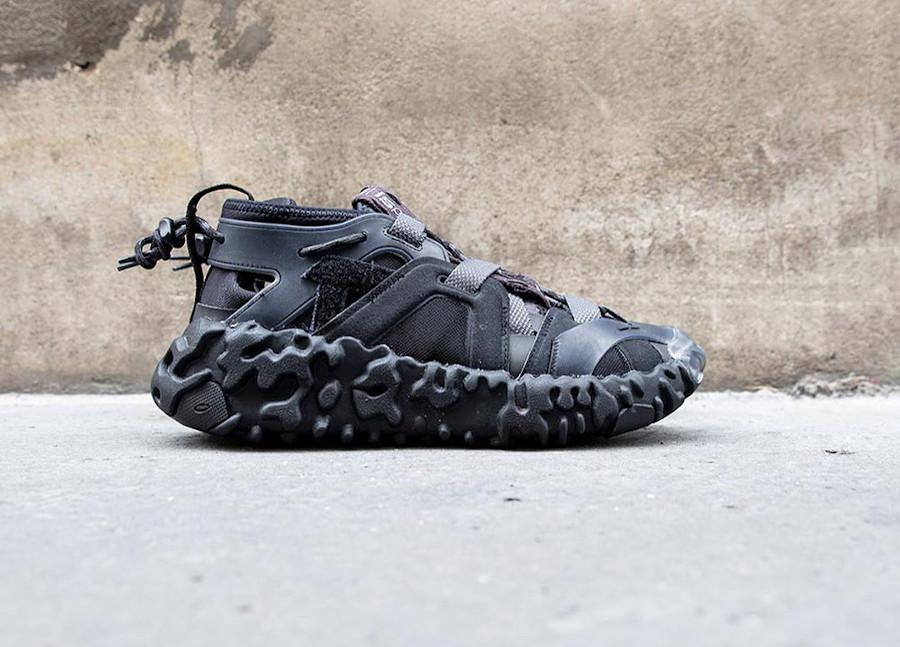 Sandale Nike Overreact Sandal ISPA noire (1)