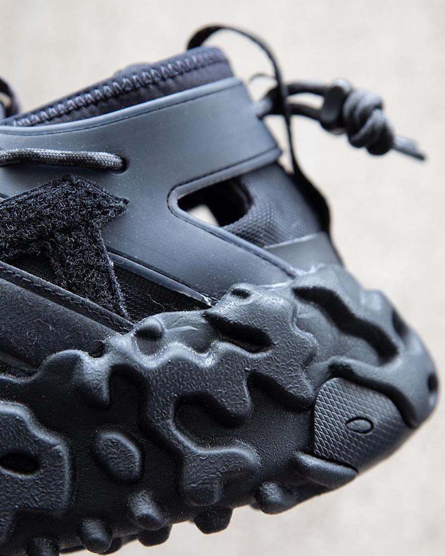 Sandale Nike Overreact Sandal ISPA noire (2)