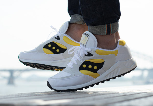 Saucony Jazz 4000 OG White Yellow Black S70487-3