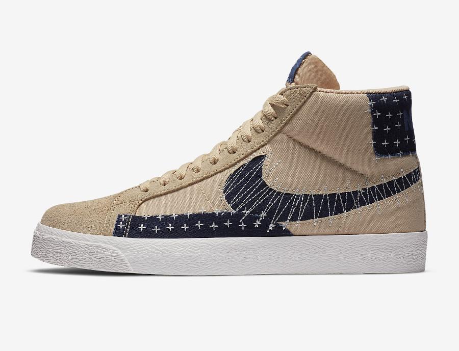 sortie en France Nike Blazer SB Sashiko Pack