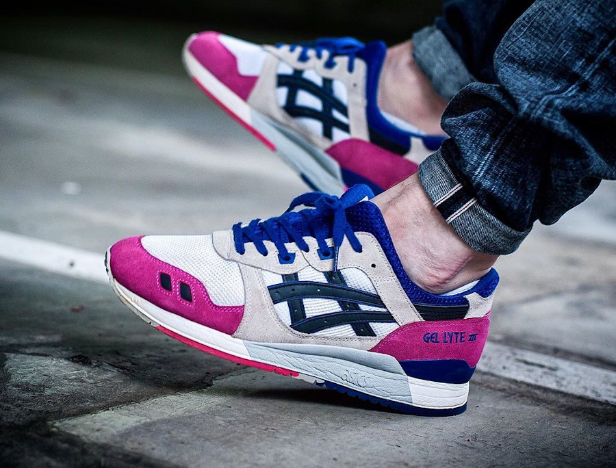 2013 - Asics Gel Lyte 3 White Black - @sneakersjeansts H301N-0190
