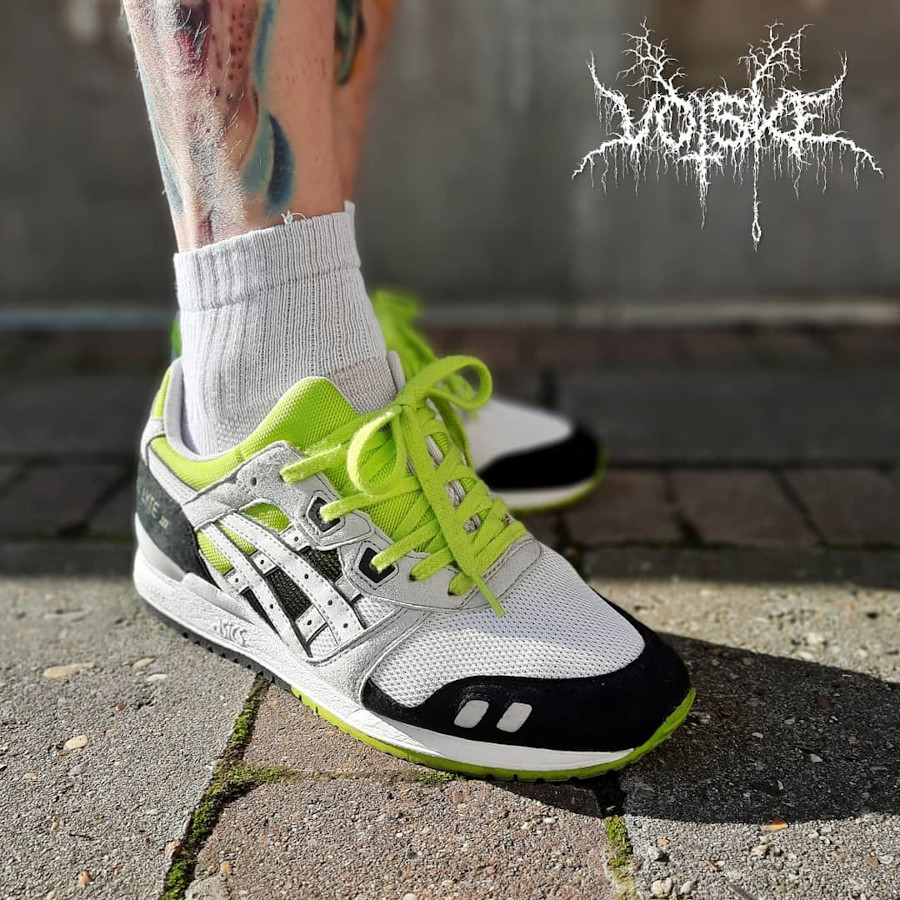 2014 - Asics Gel Lyte 3 White Black Yellow Lime - @votsketm