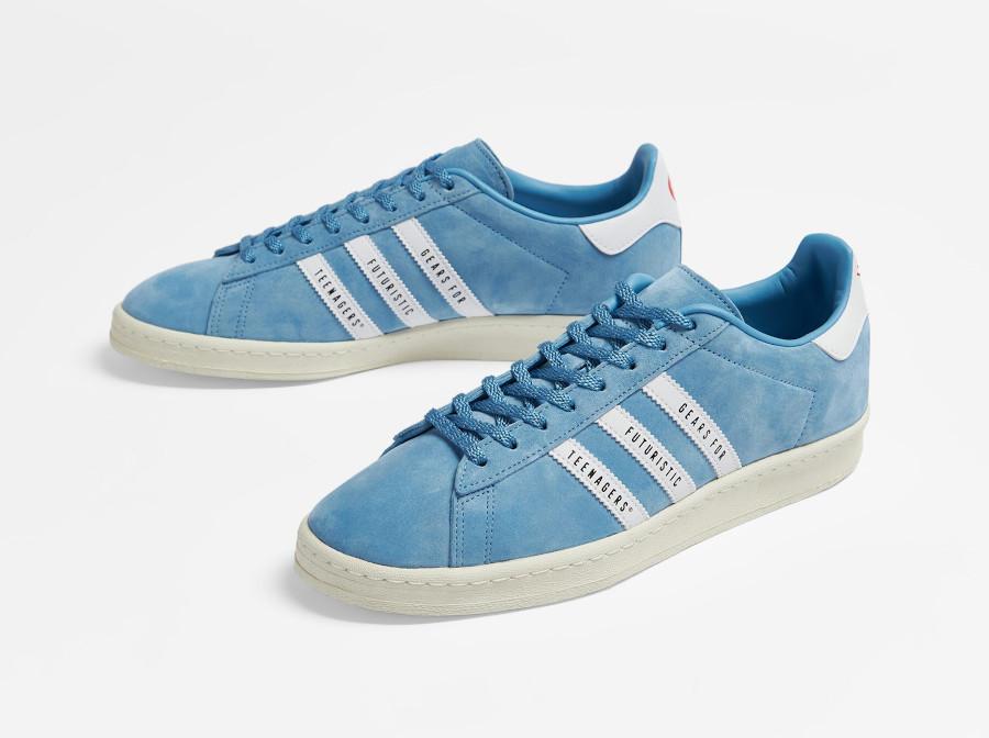 Adidas Campus 80 bleue FY0731