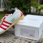 Adidas Japan Cloud White Power Red Green