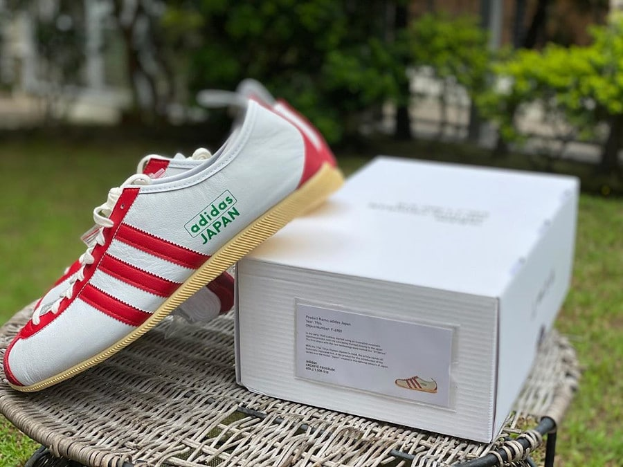 Adidas Japan White Red Green City Series 2020 FV9697