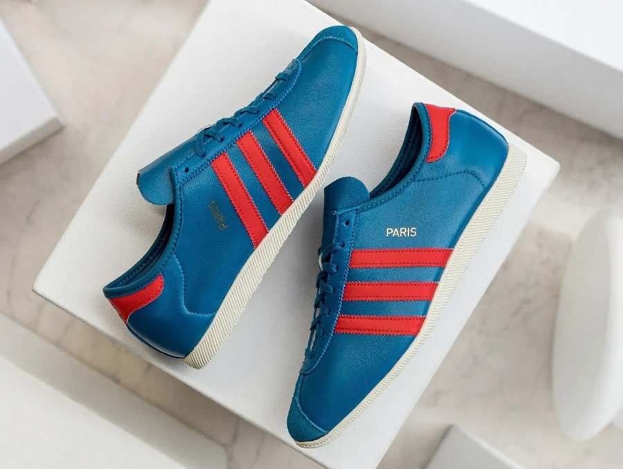 Adidas Originals Paris bleu blanc rouge (2)