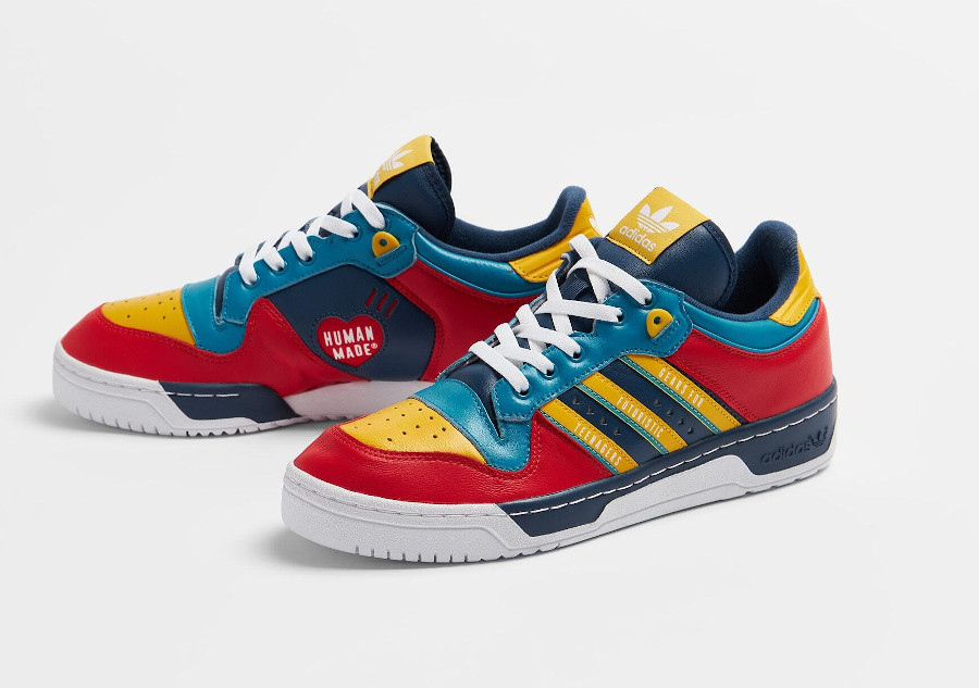 Adidas Rivalry Low bleu marine FY1083
