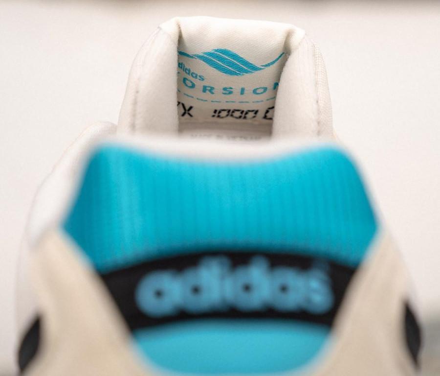 Adidas Torsion ZX1000C blanche bleue et noire (4)