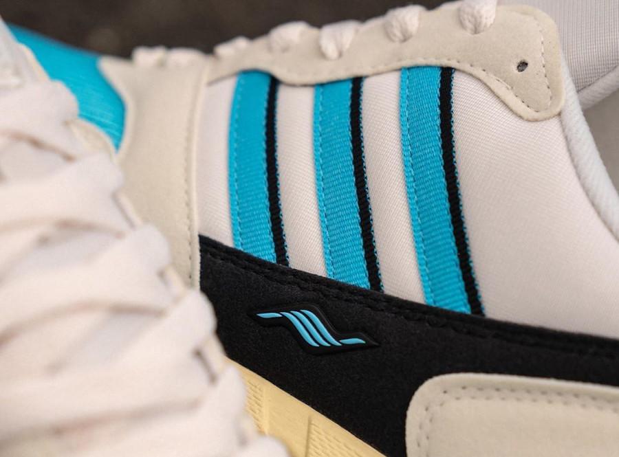 Adidas Torsion ZX1000C blanche bleue et noire (5)