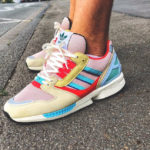 Adidas ZX 8000 Vapour Pink Clear Aqua Easy Yellow
