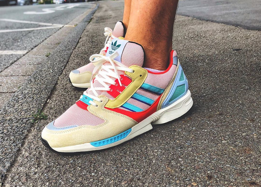 Adidas ZX 8000 Oddity Vapour Pink Multicolor EF4367
