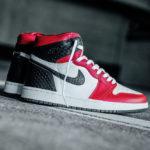 Women's Air Jordan 1 High Satin Red