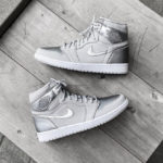 Air Jordan 1 Retro High OG CO.JP 'Tokyo' Neutral Grey Metallic Silver