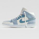 Air Jordan I Mid 'Mix Materials' Celestine Blue