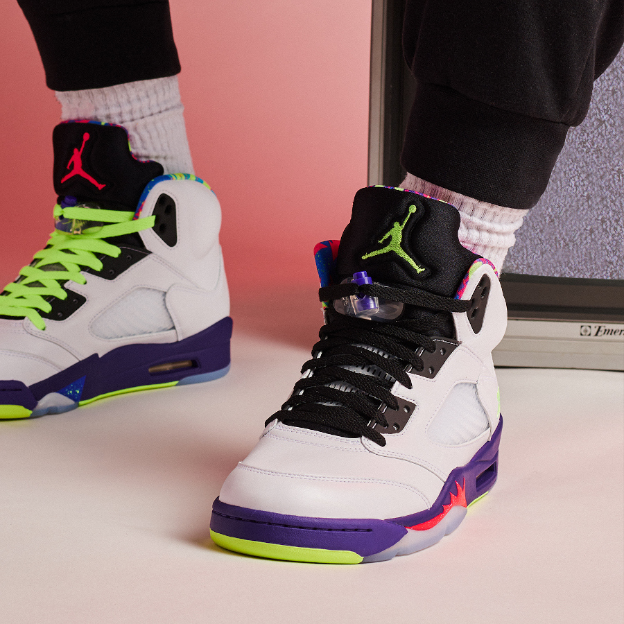 Air Jordan 5 Ghost Green Alternate Bel Air DB3335-100