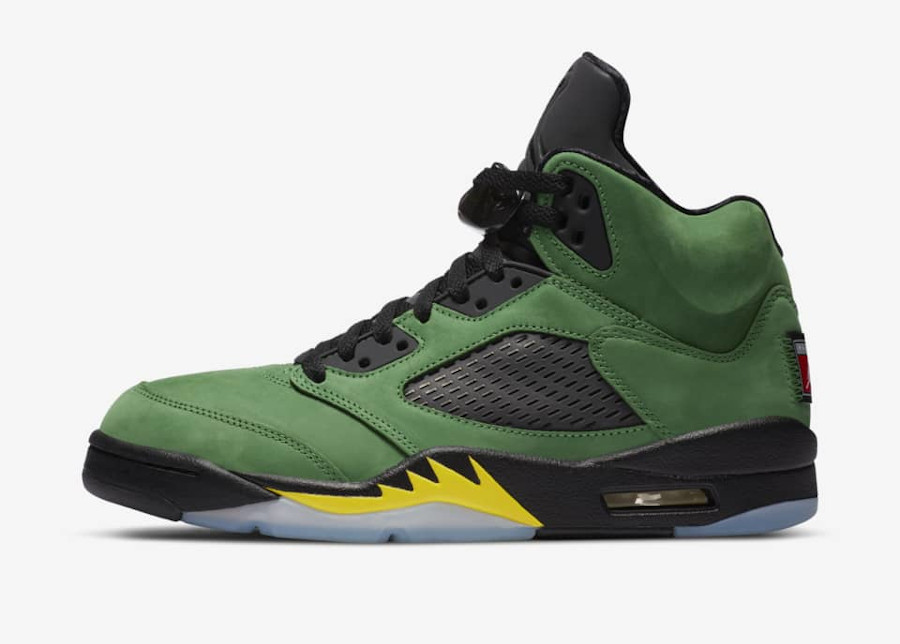 Air Jordan 5 Retro Apple Green date de sortie