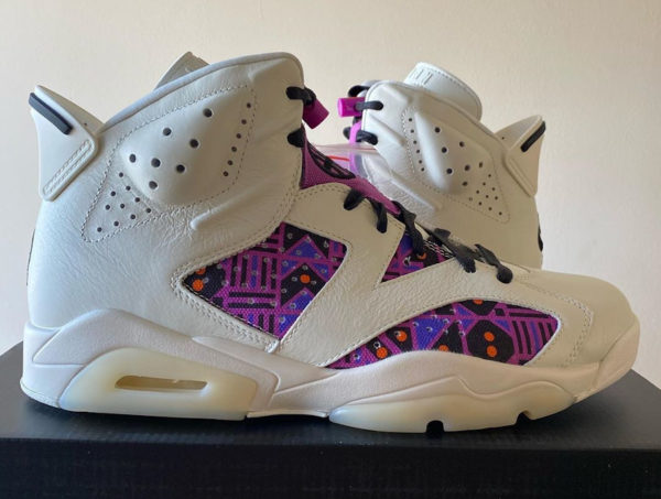 Air Jordan 6 Retro Q54 Quai 54 Alternate Sail