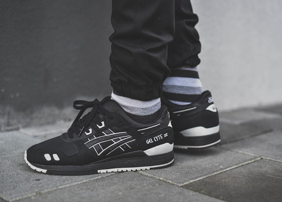 Asics Gel Lyte 3 Black White JD Sports sample - @liksl
