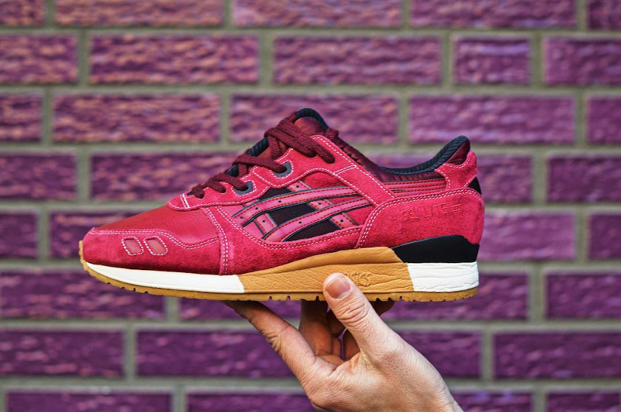 Asics Gel Lyte 3 Burgundy (sample) - @kennethcrunch