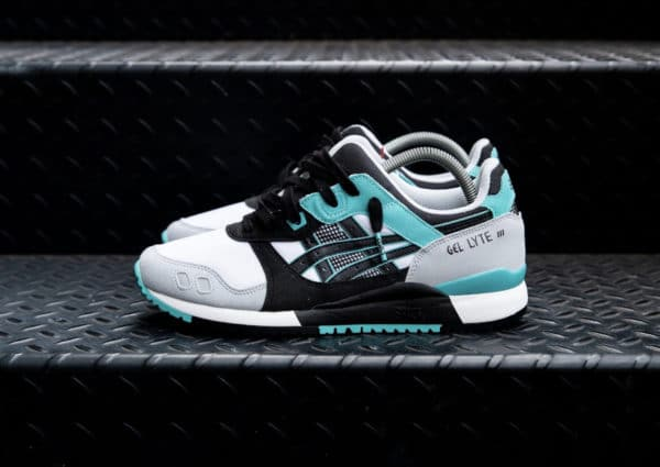 Asics Gel Lyte 3 OG White Black Teal 1201A051-100