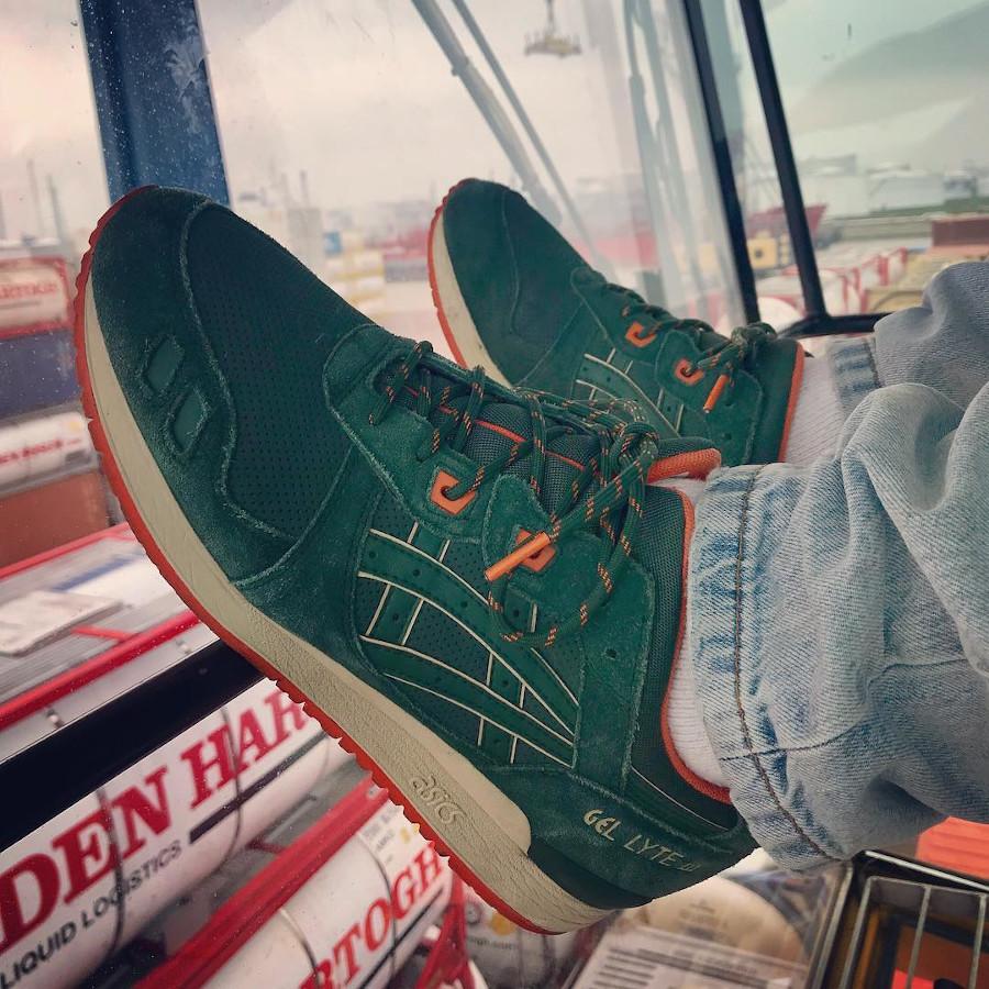 Asics Gel Lyte 3 Outdoor Pack Dark Green Orange - @burger1984am1 - H427L-8080