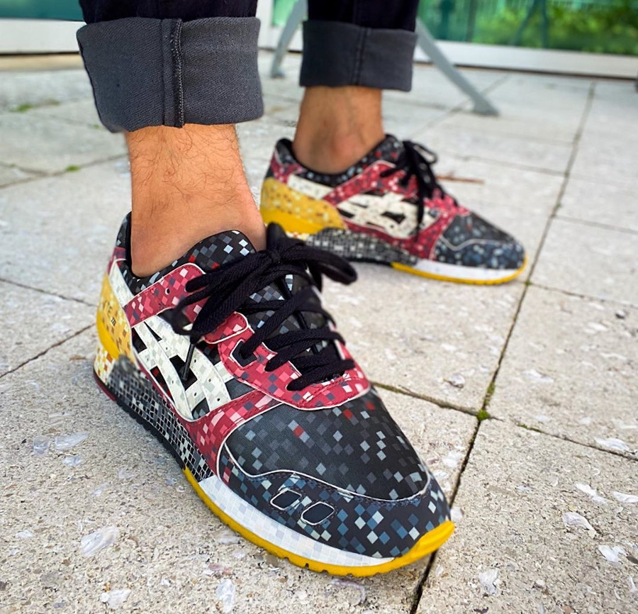 Asics Gel Lyte 3 Pixel Pack unreleased - @zapatero1975
