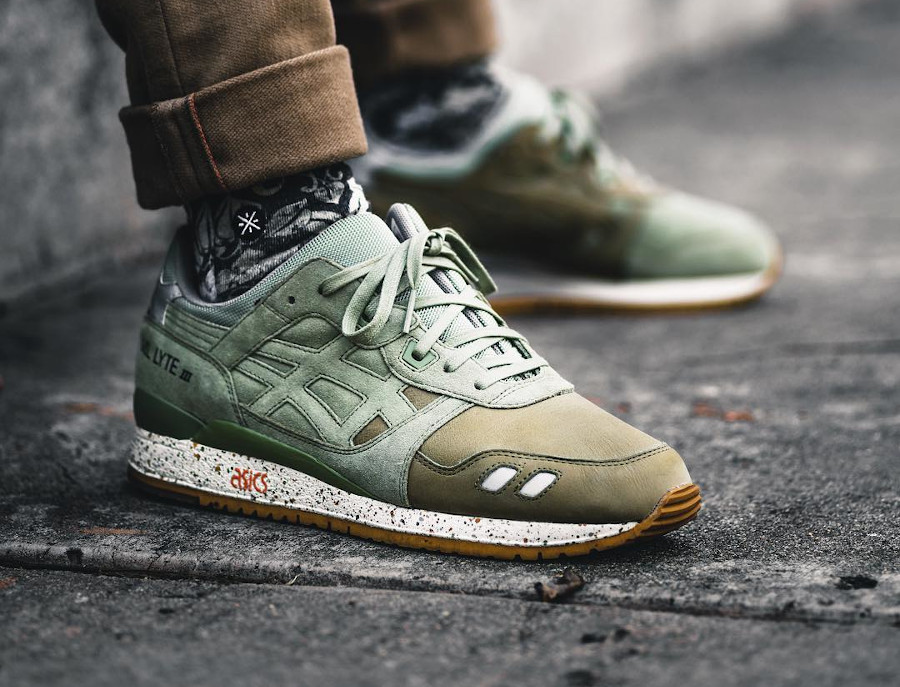 Asics Gel Lyte 3 Sage (sample) - @don_shoela