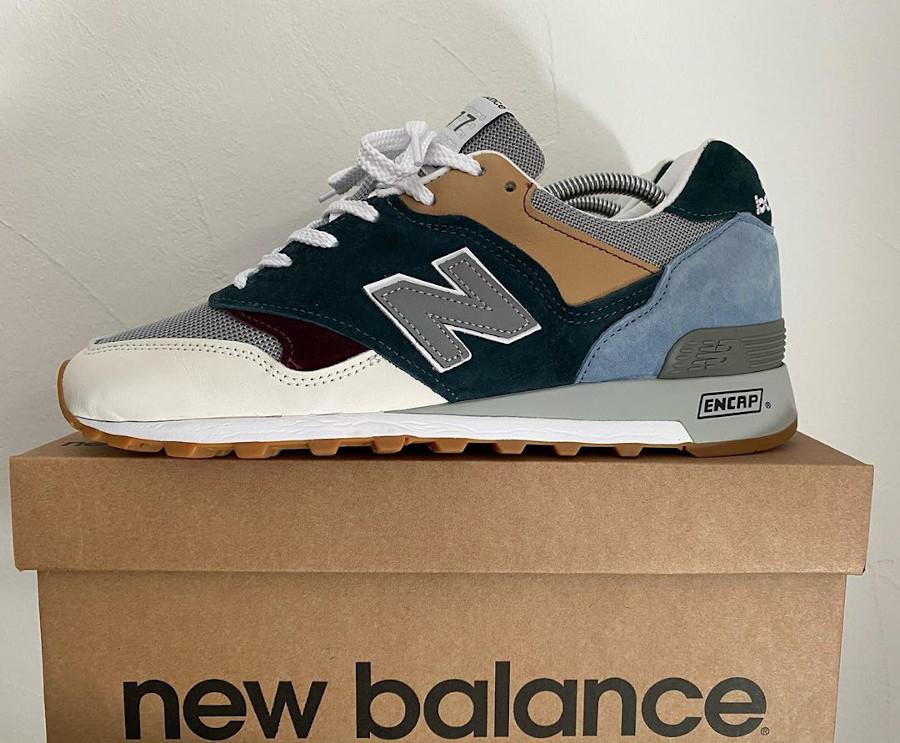 New Balance M577 2020 White Grey Teal (3)