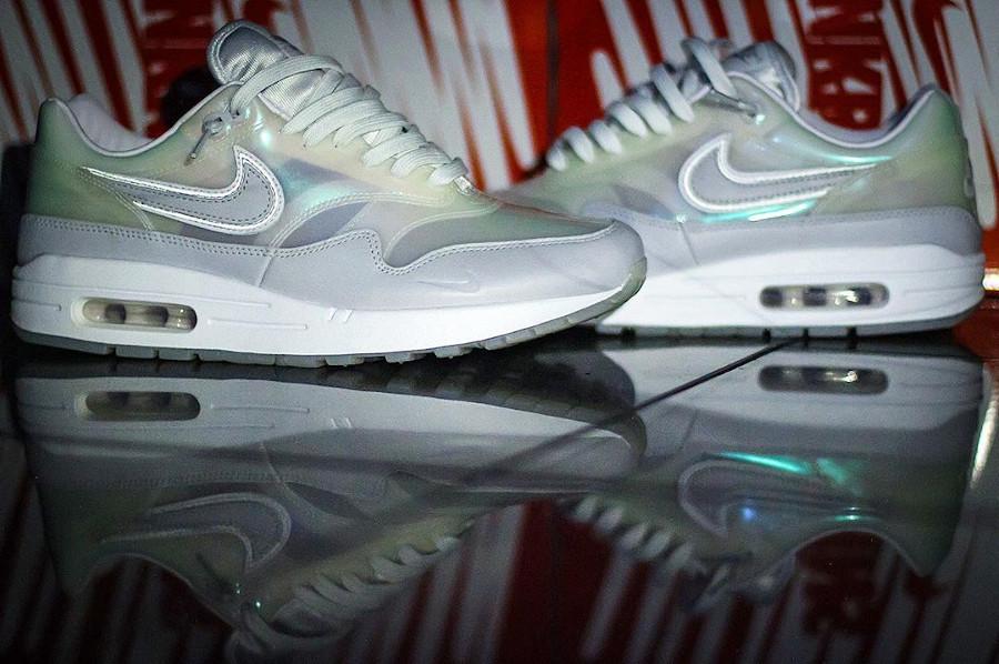 Nike Air Max 1 Got Em blanche et transparente (2)
